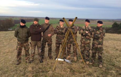 politische Bildung mit der französischen Armee